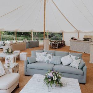 Celeste Pole Tent Marquee Hire Dorset Hampshire Surrey West Sussex